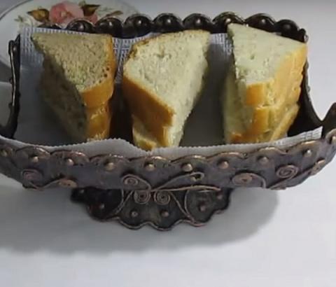 Потрясающая хлебница своими руками!