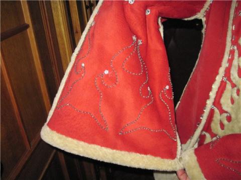 Фантазии из кожи и меха с вышивкой и их воплощение в жизнь