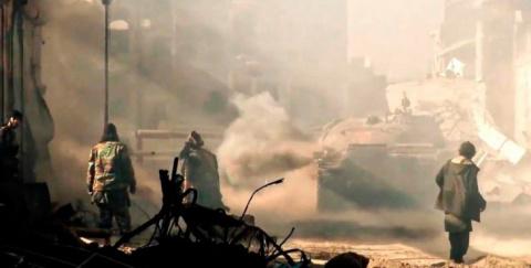 Террористы в Сирии расстреля…