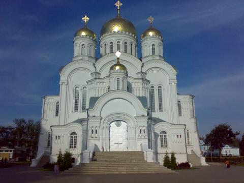 Преображенский собор Серафимо-Дивеевского монастыря, август 2008г.