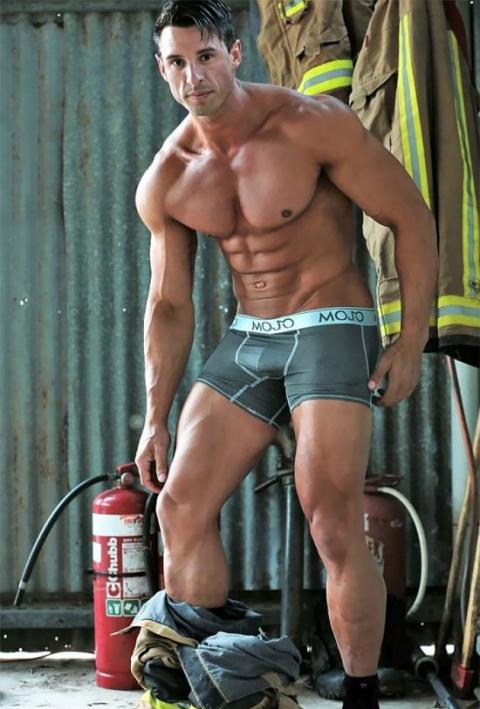 Австралийские пожарные в гор…