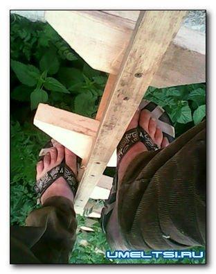 Садовая переносная деревянна…