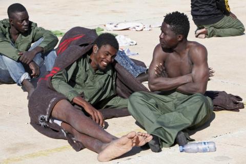 Немного о мигрантах: Испания…