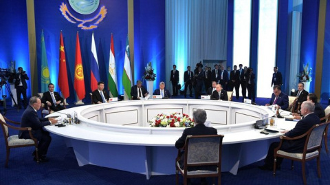 Казахстан: евразийская Е8 (ШОС), против G7 (Запад)