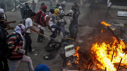 В Венесуэле в ходе протестов…