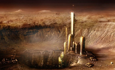 На Марсе обнаружены руины древнего города