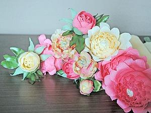 Создаем пионовидные цветы и бутоны для букета из конфет