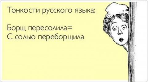 Сложные правила русского языка в простой, забавной и очень наглядной форме