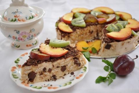 Сметанный торт из крекеров с…