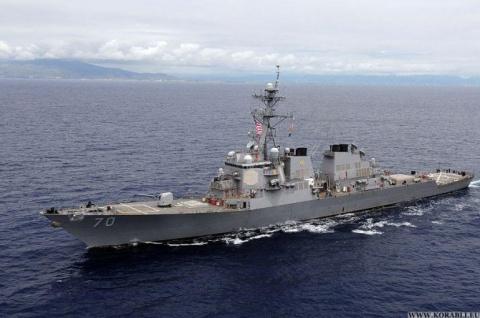 Китай обвинил ВМС США в нару…