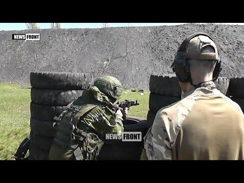Соревнования по тактической стрельбе между подразделениями внутренних войск ДНР