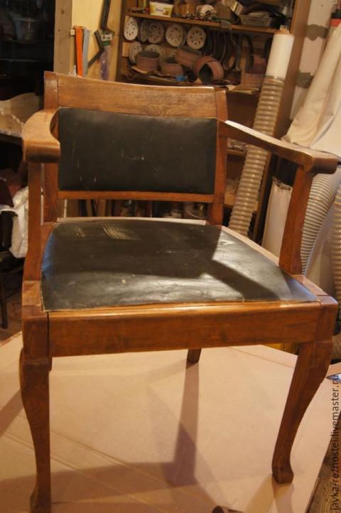 Реставрация старого кресла