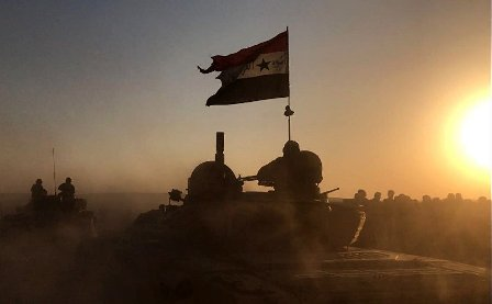 Сирийская армия взяла штурмо…
