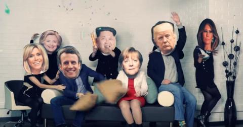 """Видео """"Путин празднует. Меркель жжет"""" стало хитом YouTube"""