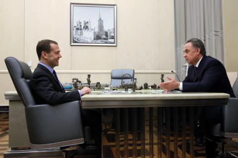 Медведев и Мутко обсудили ск…