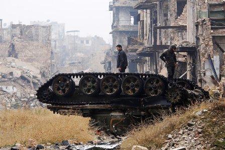 Два населённых пункта Сирии …