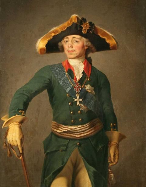 Павел I, Наполеон и шкура не…