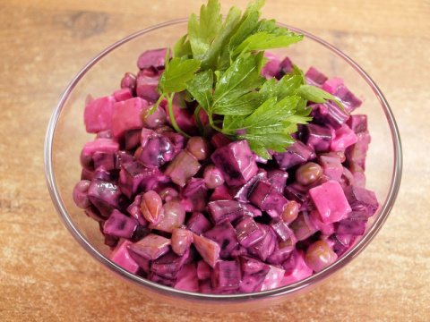 Салат Виолетта - видео рецепт