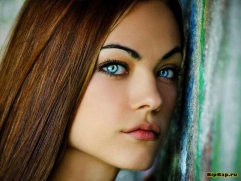 Красавицы с голубыми глазами