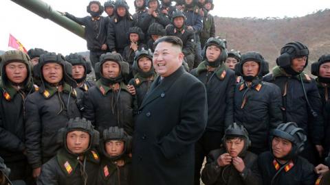 Ким Чен Ын пообещал «заставить янки побеспокоиться»