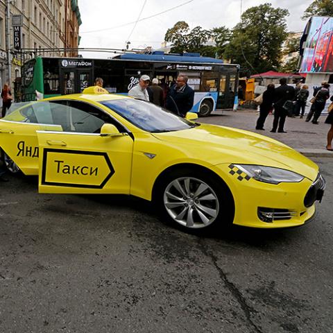 «Яндекс.Такси» до конца года…