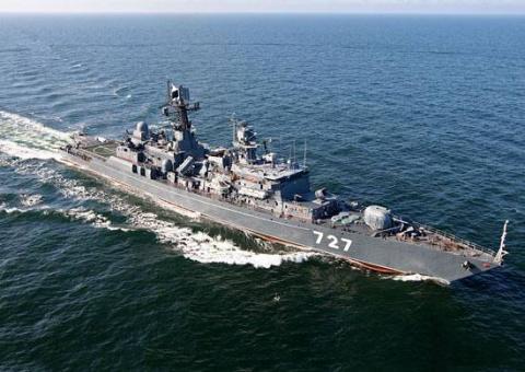 "Американский эсминец ""Грейвл…"
