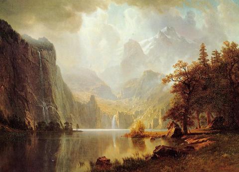 Американский художник пейзажист Альберт Бирштадт