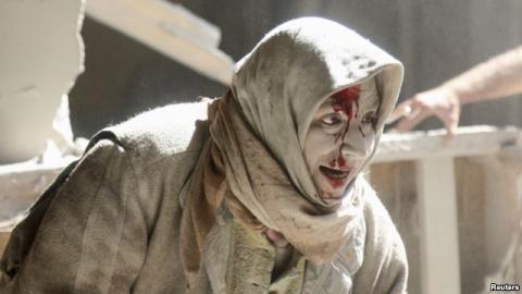 Авиаудары по гражданскому населению Алеппо продолжаются