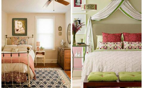 ИНТЕРЬЕР. Советы по обустройству маленькой спальни