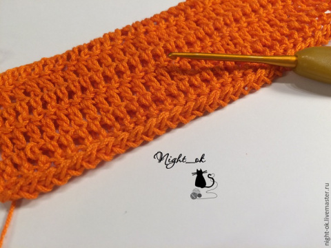 Как обвязать крючком края вязаного изделия