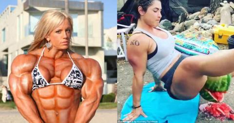 Самые сильные девушки-бодибилдеры