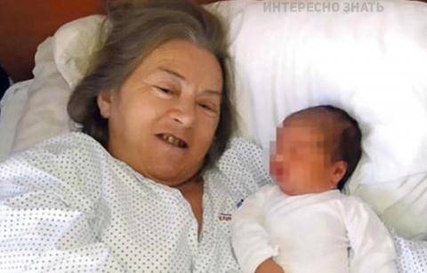 Эта женщина родила в 60 лет,…
