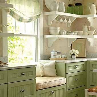 УЮТ. Окно на кухне и размещение мебели