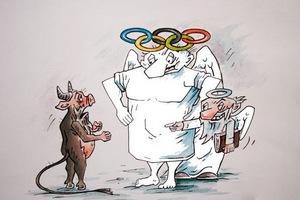 Около-олимпийские недоноски