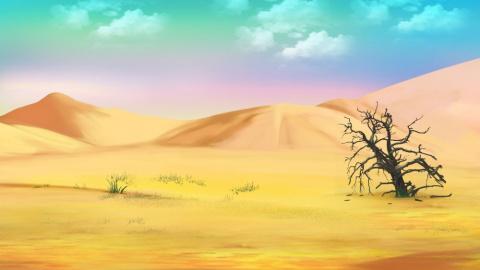 Смерть в пустыне