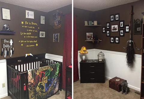 Детская комната в стиле «Гарри Поттера»