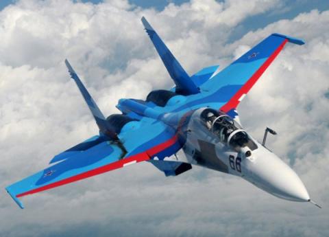 Су-30 нагнал ужас на пилотов…