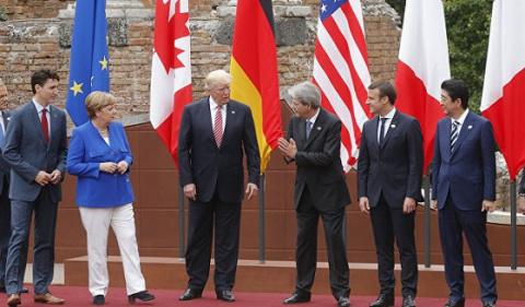 «Ритуальные» резолюции G7 в …