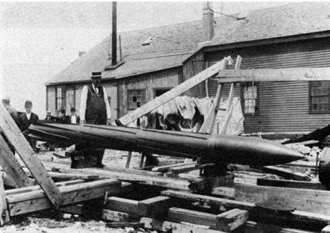 Реактивная торпеда П. Каннин…