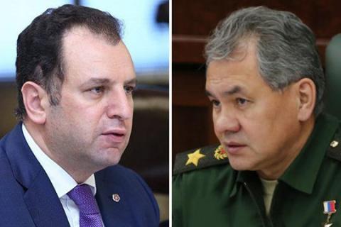 Министры обороны России иАр…