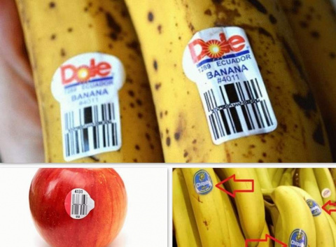 ПАМЯТКА. Что означают надписи на наклейках на фруктах