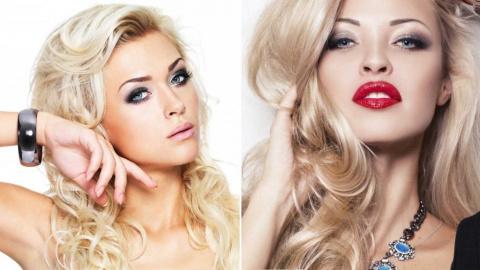 Как накраситься блондинке?
