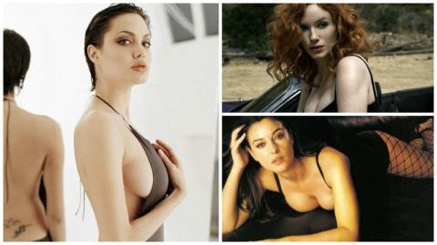 Знаменитые девушки с большой…