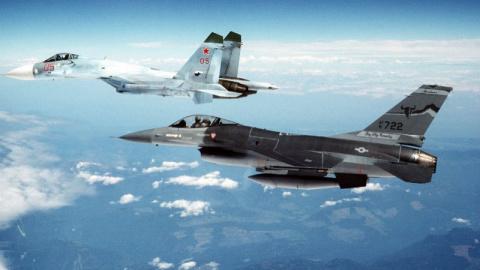Саечка за испуг: США провоцируют ВКС РФ и получают по заслугам