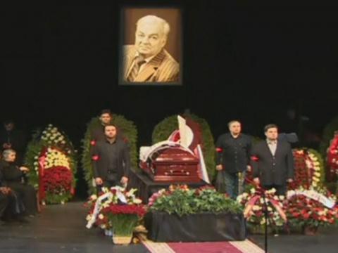 Трансляция: Прощание сМихаилом Державиным