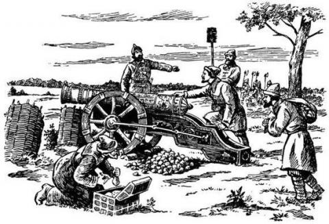 Артиллерийское дело на Руси