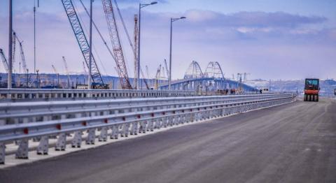 Строители Крымского моста пр…