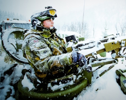 Военные США замерзли на учен…