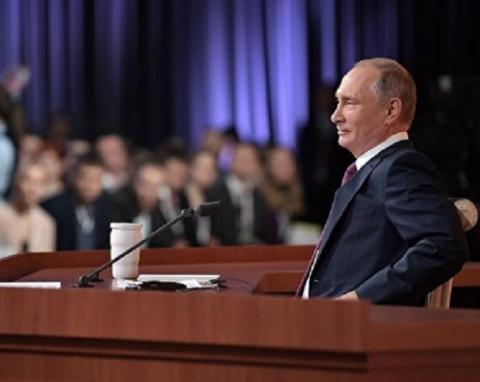 Путин в ответ на вопрос о во…