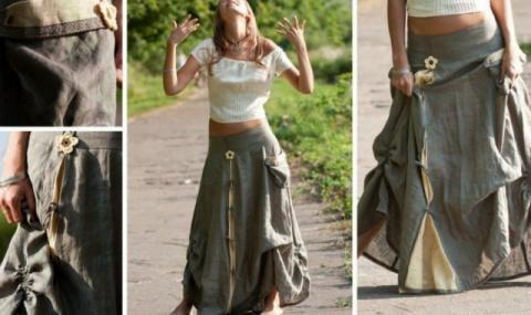 Бохо стиль: выкройки платьев…